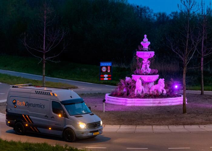 Dynamisch-licht-kleurt-fontein-Harderwijk